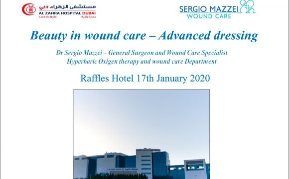 Beauty in wound care