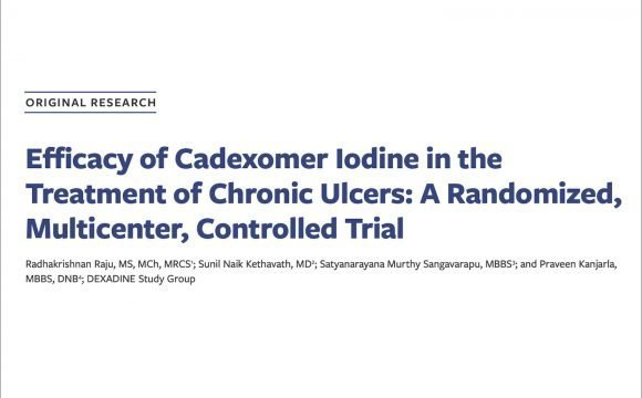 The use of Efficacy of Cadexomer Iodine in the Treatment of Chronic Ulcers