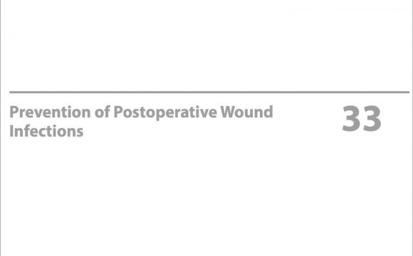 Prevention of Postoperative Wound infection
