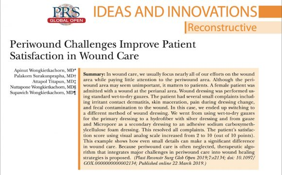 Wound Care and peri-wound area