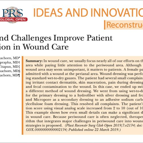Wound Care and peri wound area